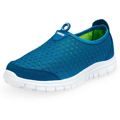 Children Slip-on Mesh Casual Flats Shoes Walking Running Sports Shoes