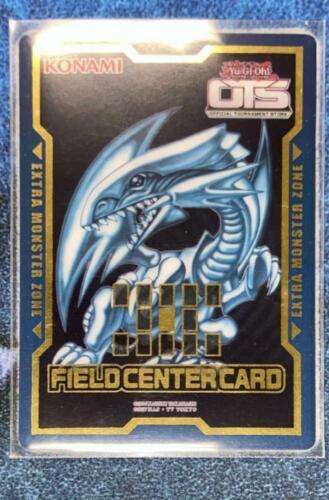 Yu-Gi-Oh BLUE-EYES WHITE DRAGON OTS FIELD CENTER CARD KONAMI OFFICIAL NEAR MINT