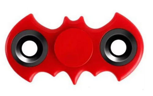 Batman Red Bangers doigt main Spinner Focus Ultimate Spin à soulager le stress Toy