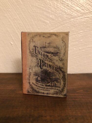 Union Pictorial Primer 1:3 Scale Miniature School Book for American Girl Kirsten