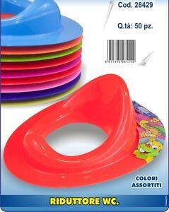 Riduttore Per Wc Disabili.Dettagli Su Riduttore Wc Bagno Baby Bambini In Plastica Colori Assortiti 28429