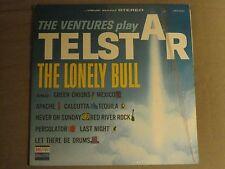 THE VENTURES PLAY TELSTAR LP ORIG '62 DOLTON BST 8019 SURF ROCK VG+ IN SHRINK!