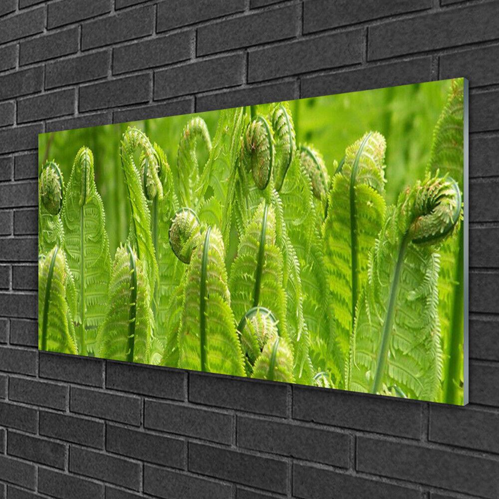Image sur verre Tableau Impression 100x50 Floral Plante