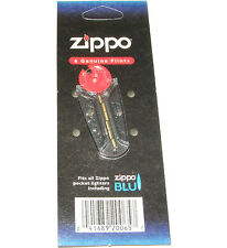 1 PACK OF ORIGINAL GENUINE ZIPPO FLINTS - 6 FLINTS - FITS ALL ZIPPO LIGHTERS