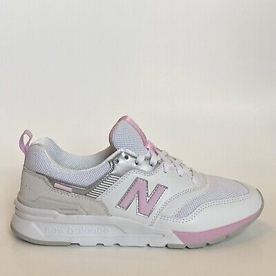 finest selection 382dd c3117 New Balance 997H Womens Sneaker White Crystal Rose Running Trainer Shoe 997  Sz | eBay