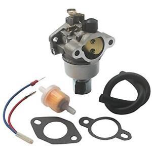 carburetor fuel filter gasket kit for john deere gt225 lx255 lx266image is loading carburetor fuel filter gasket kit for john deere