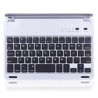 Magnetic Aluminum Case Cover Bluetooth Keyboard Dock for Apple iPad Mini 4 3 2 1
