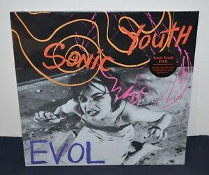 SONIC YOUTH - EVOL, LP BLACK VINYL - 18.4KB