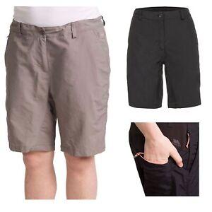 Trespass-Hashtag-Womens-Shorts-Mid-Length-Beach-Casual-Style