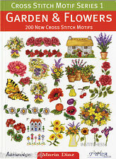 DMC Cross Stitch Motif Series 1 Chart Book Garden And Flowers