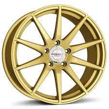 19 Zoll Borbet GTX Concave Felgen Gold 8,5x19 5x112 für MB A Klasse W176 AMG