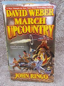 MARCH-UPCOUNTRY-BOOK-1-TANSY-DAVID-WEBBER-amp-JOHN-RINGO-P-B