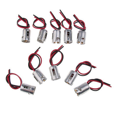 10 Pieces BA15D 1156 Connector Car Bulb Wire Lamp Socket Truck Light LED