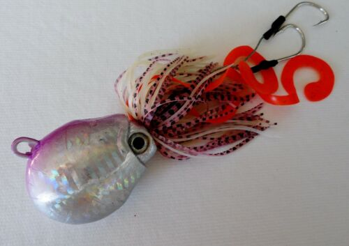 1 Thunder Jig 250g//9oz Octopus Jigging Weight Saltwater Fish Lure PURPLE ONE