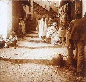 Algeri-Algeria-Foto-Stereo-PL58L29n11-Placca-Lente-Vintage