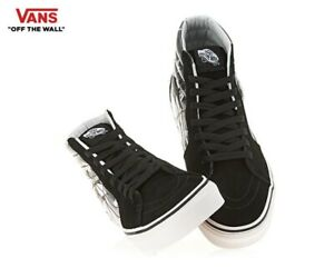 be09d3abbaa80b Vans Disney 90th Anniversary SK8-HI Mickey Plane Crazy Fashion ...