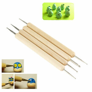 4-in-1-Wooden-Polymer-Clay-Pottery-Ball-Stylus-Sculpting-Carving-Modeling-Tools