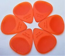 Wedgie Guitar Picks  12 Pack  Clear XL  .88mm  Orange