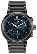 Citizen Eco-Drive Men's Proximity Chronograph Calendar 46mm Watch BZ1005-51E
