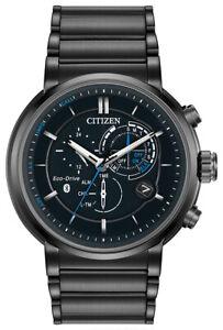 Citizen Eco-Drive Men's Proximity Chronograph Calendar 46mm Watch BZ1005-51E