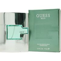 Guess Man 2.5oz/75ml Edt Spray For Men In Box By Guess