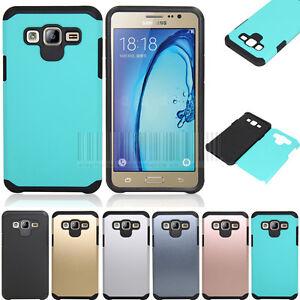 Antichoc-de-protection-hybride-en-caoutchouc-dur-Telephone-Etui-Housse-Pour-Samsung-Galaxy-On5