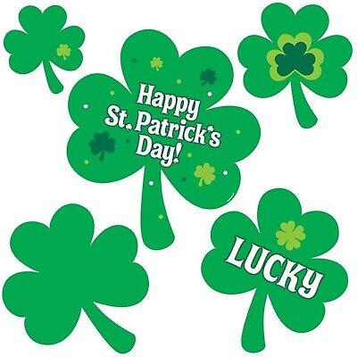 Sportivo Happy S. Patrizio Paddys Irlandese Irlanda Shamrock Confezione 30 Decorazioni Party-mostra Il Titolo Originale Adottare La Tecnologia Avanzata