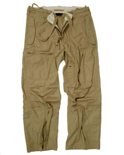 Mil-TEC Fliegerhose Cotton vintage coyote Cargo Hose Army Trousers Jagdhose