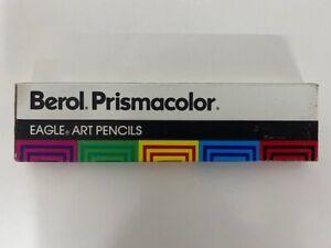 Vintage-Berol-Prismacolor-Eagle-Art-Colored-Pencils-White-Qty-12-938