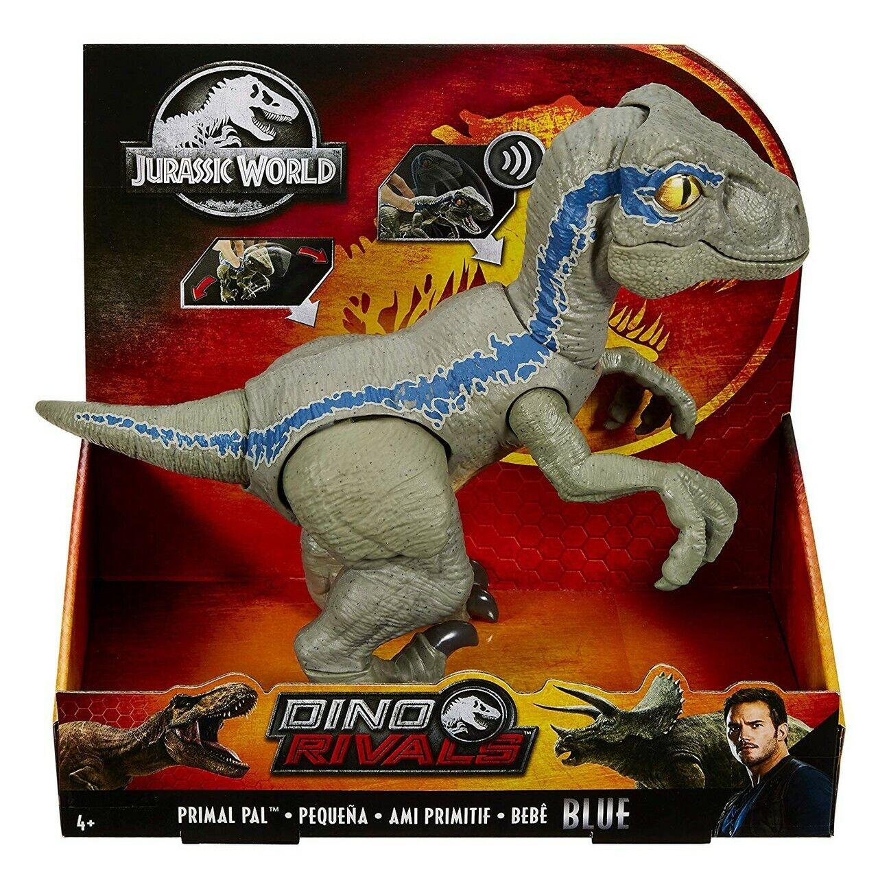 JURASSIC  WORLD Dino rivali PRIMAL PAL Blu Nuovo  offrendo il 100%