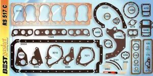 GMC Pontiac Side Valve 6 cylinder Full Gasket Set 208 222 223 233 239 1935-1954