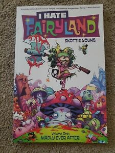 I-HATE-FAIRYLAND-VOL-1-MADLY-EVER-AFTER-TPB-Scottie-Young-Image-Comics-SIGNED