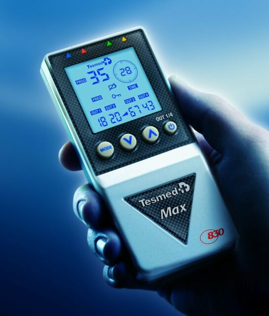 ^sa 4 cavetti elettrostimolatore stimolatore muscolare Tesmed Max5 830 power 7.8