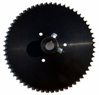 Live Axle Sprocket, 60t, For 40/41/420 Chain, 1 Bore With Locking Bolts