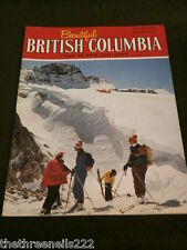 BEAUTIFUL BRITISH COLUMBIA - WINTER 1973 - GLACIER SKIING - CAPE MUDGE
