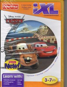 Fisher-Price-iXL-Learning-System-Disney-Pixar-Cars-2-Game-Ages-3-7-New