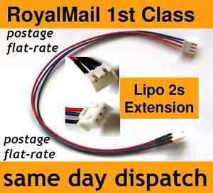 Lipo-Balance-Extension-Charger-Cable-Lead-2s-JST-XH-2-cell-7-4V