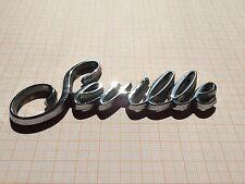 Cadillac Seville Schriftzug Kofferraum Kotflügel Emblem Script Trunk Ornament