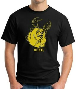 f203edd60 T-SHIRT BEER Bear Deer It's Always Sunny In Philadelphia, hunting ...
