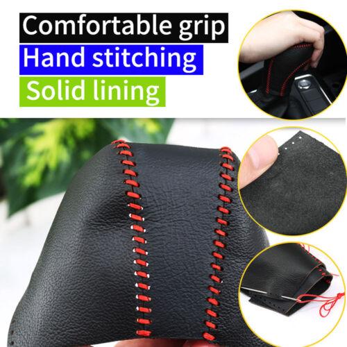 PU Leather Gear Knob Cover Car Shift Boot For Honda CIVIC 06-11 Ciimo 11-15