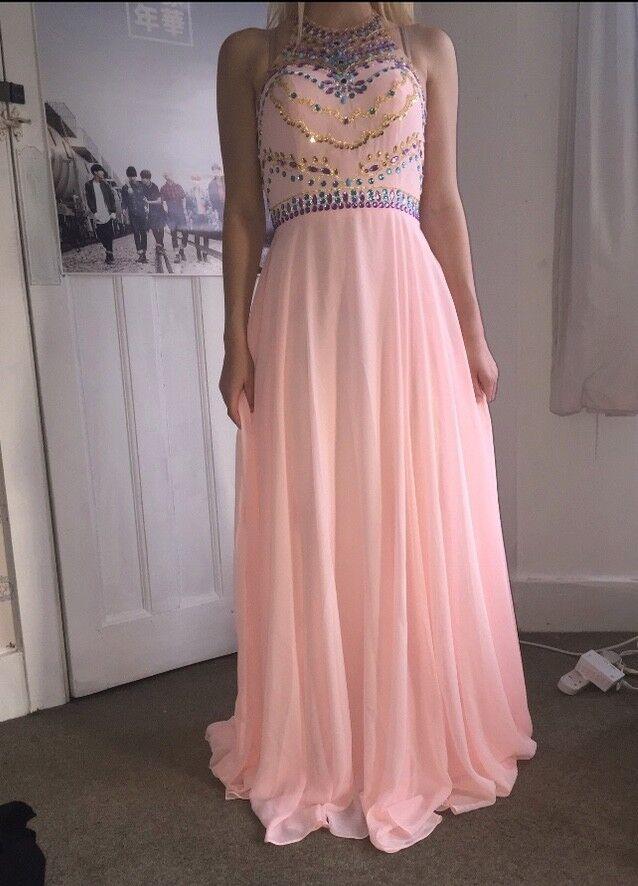 Pink Prom Dress, Size 10, BRAND NEW