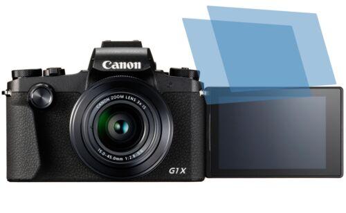 2x Canon PowerShot G1 X Mark III Schutzfolie Displayschutzfolie AR Displayfolie