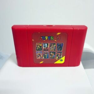 64 Retro Game Card 340 in 1 Game Cartridge N64 Video Game Console Region Free