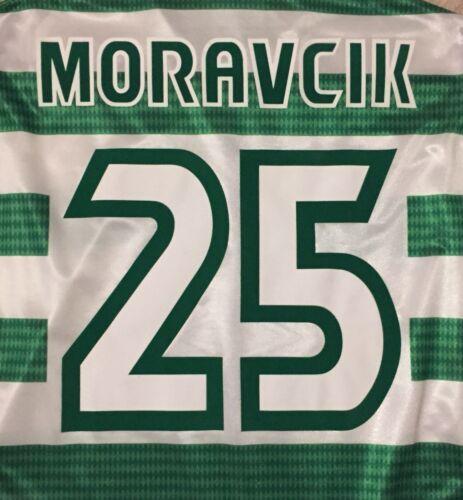 Moravcik #25 Original Celtic 1997-99 Home Name And Numbers Set