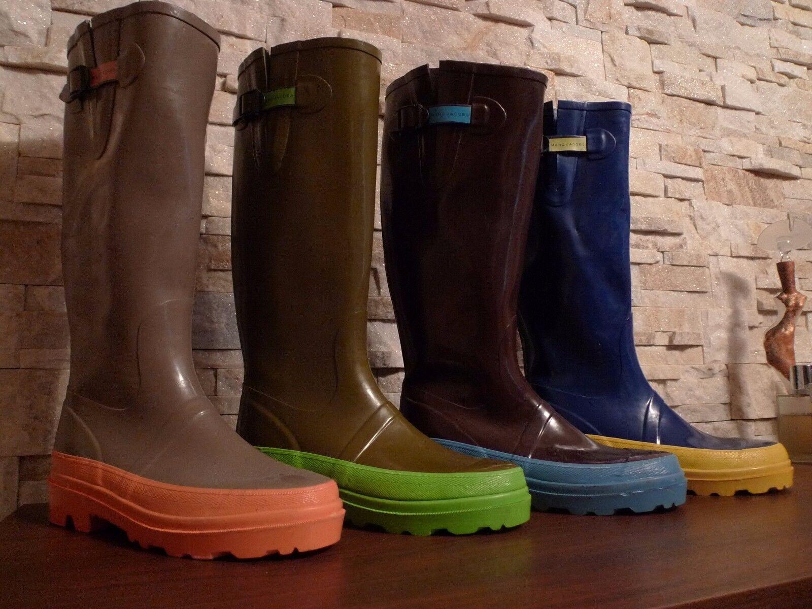 MARC JACOBS Homme Bottes de pluie, 4 couleurs différentes, taille Eur 43 US 9-9,5