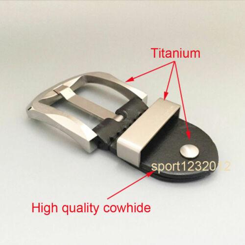 Skin Friendly Titanium Men Belt Buckle Fastener Neddle Buckle For Gift DIY