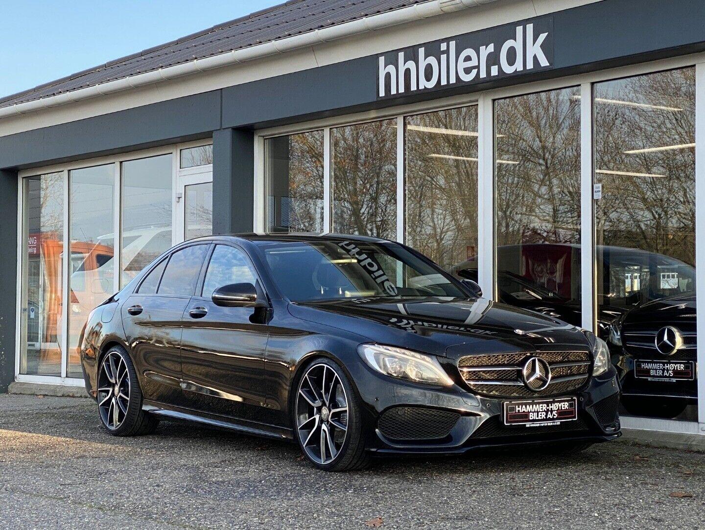 Mercedes C200 d 2,2 AMG Line aut. 4d - 349.700 kr.