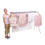 thumbnail 2 - Mrs Peggs Deluxe 10 Line Clothesline Outdoor Indoor Portable-Airer Clothes Line