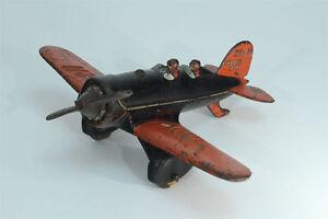 Hubley-Lockheed-Sirius-Cast-Iron-Plane-Lindy-NR-211