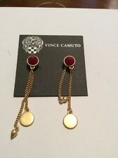 Vince Camuto Belle Of The Bazaar Gold Tone Stone Chain $25 #118